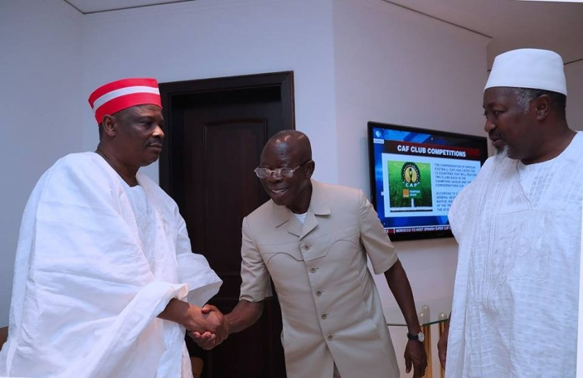 Photos: Senator Kwankwaso met President Buhari last night, this morning he defected from APC to PDP