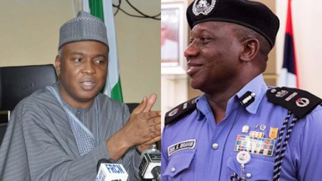 Saraki writes IG, denies links with Offa bank robbery suspects