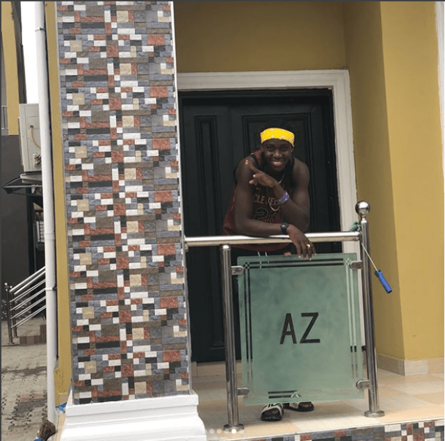 Super Falcons star Asisat Oshoala shares power message as she shows off the house she bought her parents (Photos)