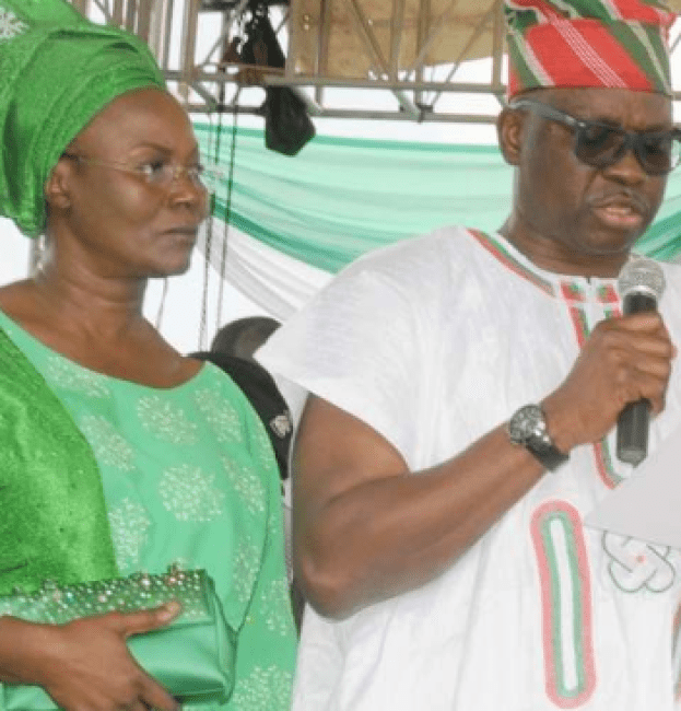 EFCC begins investigation of Fayose, wife