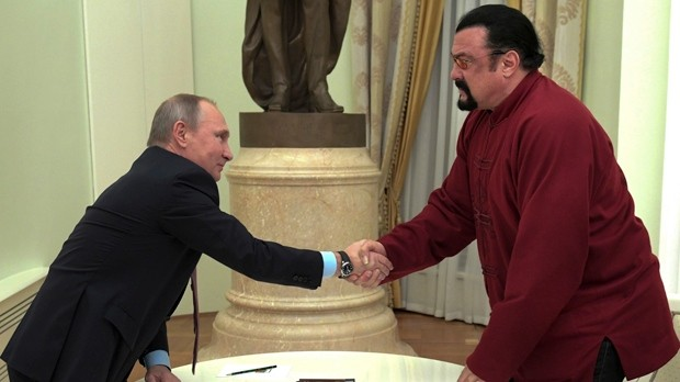 Actor Steven Seagal appointed Russian ministry