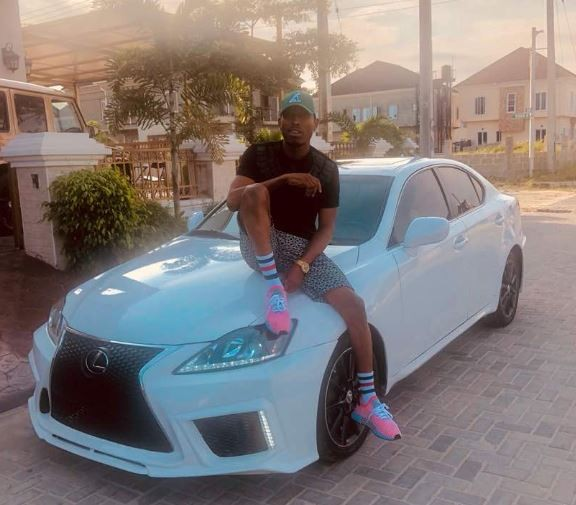 Mr 2kays shows off his brand new 2015?Lexus 250 (Photos)