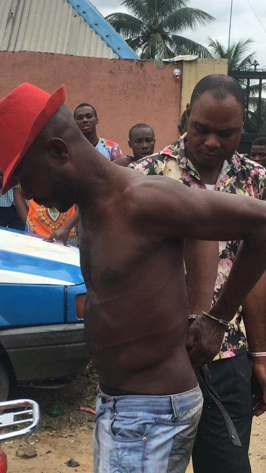 Photos: Man apprehended for having sex repeatedly with 12 year old girl in Rivers state