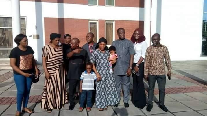 Rivers state government open endowment fund for children of Joe Blankson, man who died while rescuing 14 persons in a boat mishap