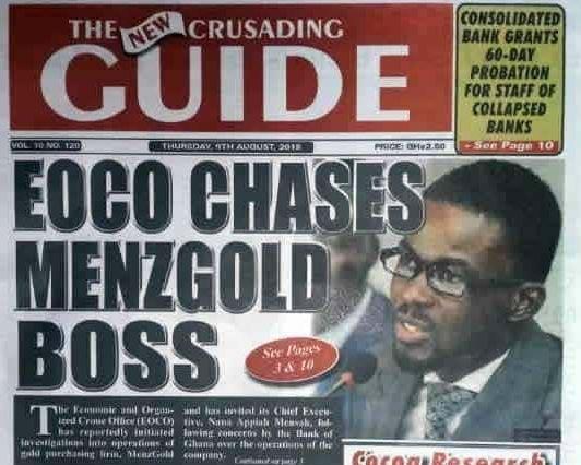 Bank of Ghana issues scam alert of popular businessman,?Nana Appiah Mensah ahead of his launch in Nigeria