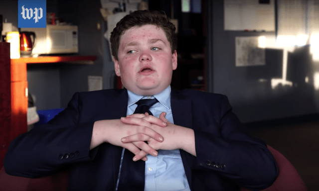 Meet the 14-year-old running for Governor in the US