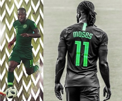 Super Eagles winger Victor Moses announces retirement from international football