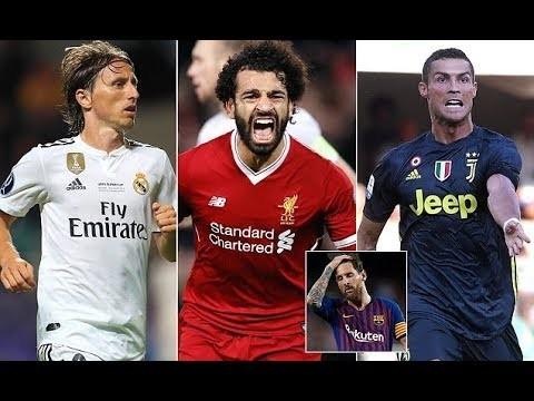 Mohamed Salah, Cristiano Ronaldo and Luka Modric nominated for UEFA Men