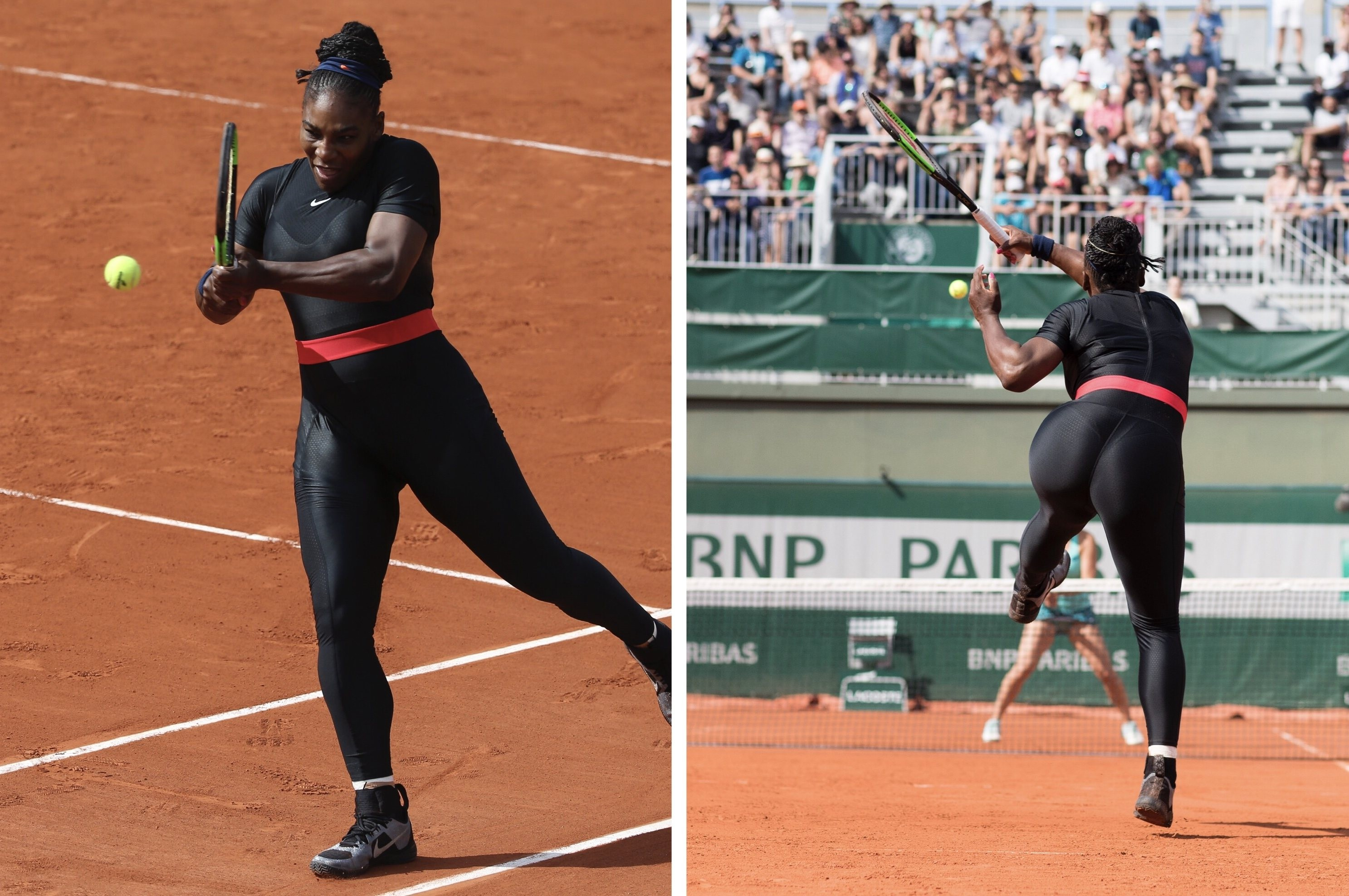 Serena Williams banned from wearing catsuit at French Open
