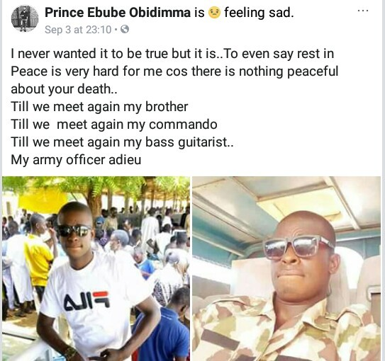 Photos of Nigerian Army officer killed in daring Boko Haram attack as death toll rises to 48