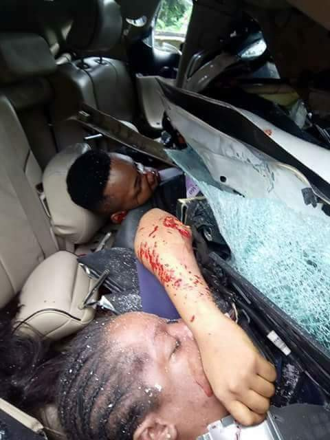 Update: Photos of corps member and girlfriend killed in ghastly accident on their way to Asaba for NYSC clearance and visit
