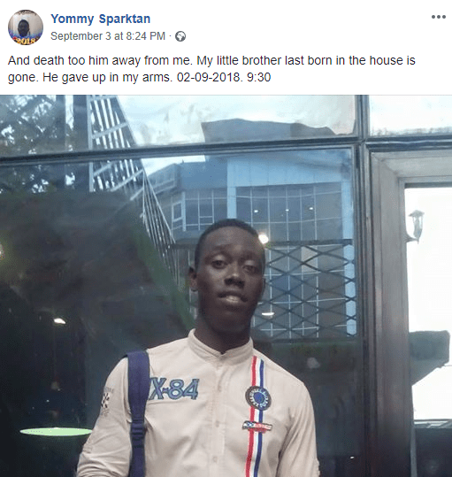 """""""All the General Hospital in Nigeria is nothing but a dead zone center"""" - Man blames LUTH after his brother dies in his arms at the hospital"""