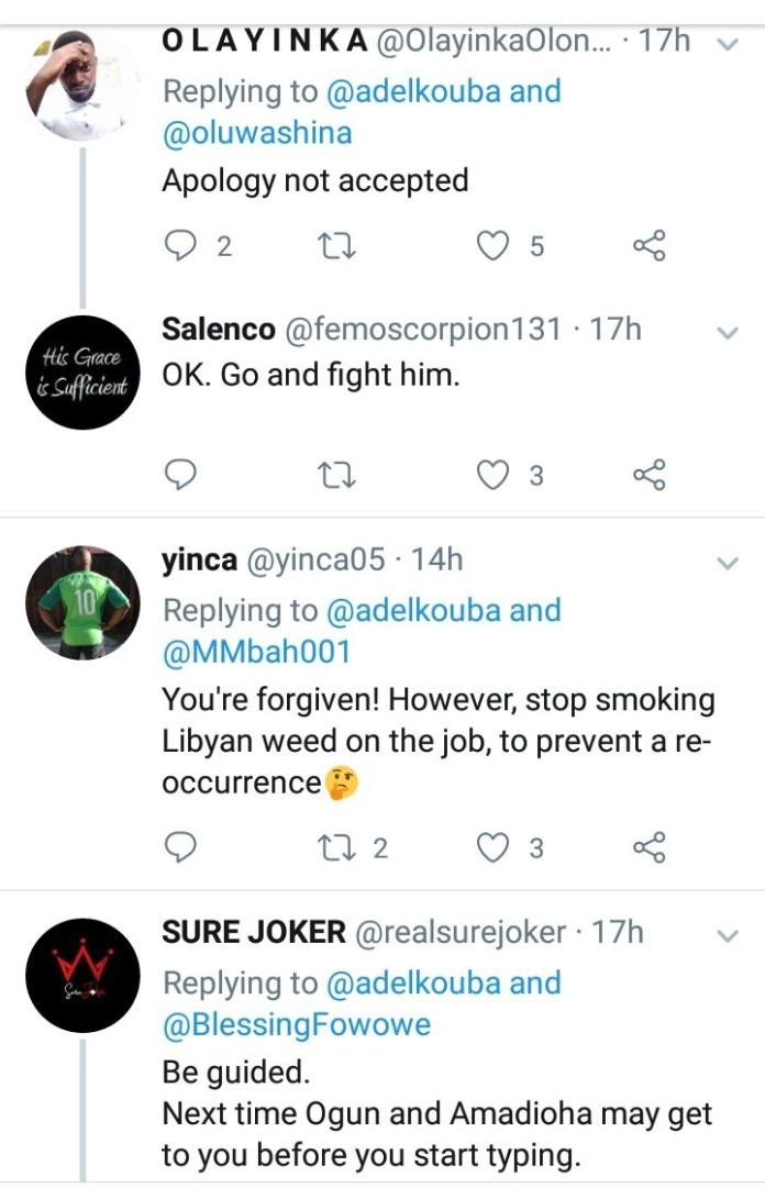 "Libyan coach apologizes after accusing Nigeria of using ""juju"" to win games, Nigerians react"
