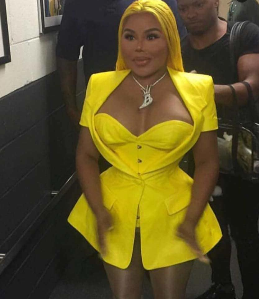 Oh dear! What happened to Lil Kim