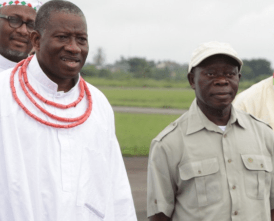 Vote Buying: Oshiomole fires back at Jonathan, says former president is a