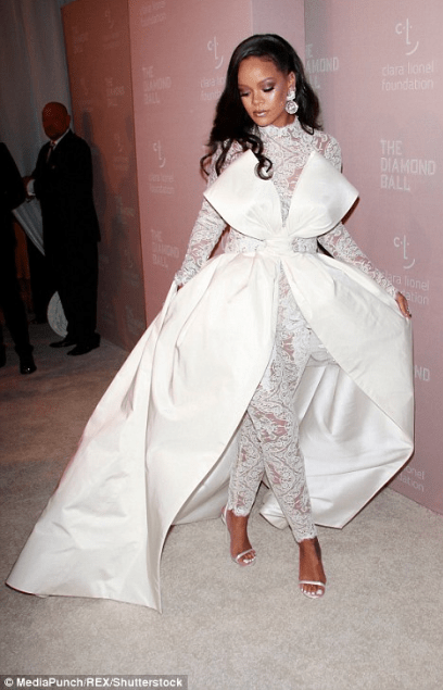 Rihanna steals the show at her 4th annual Diamond Ball