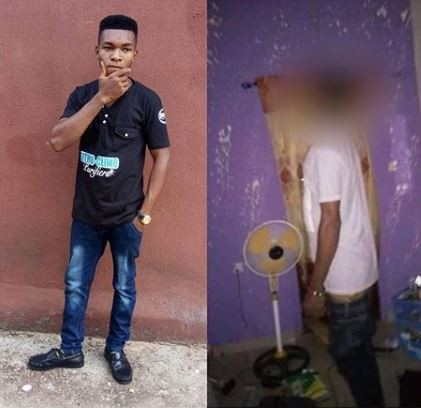 Sad!?Final year student of Michael Okpara University of Agriculture,?Louis Ihejirika found dead in his room