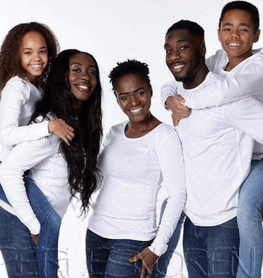 Nigerian single mum of four who lost her hubby at a young age and suffered a marital crash, finds love again(photos)