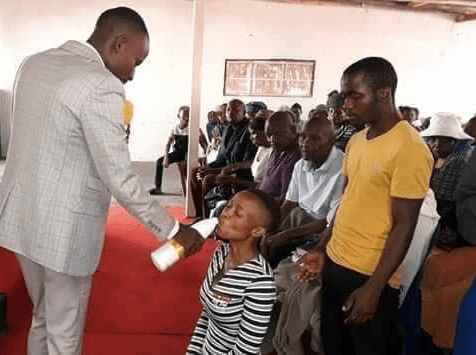 """""""They were drinking the blood of Jesus"""" - Pastor who gave members JIK bleach to drink defends his action"""