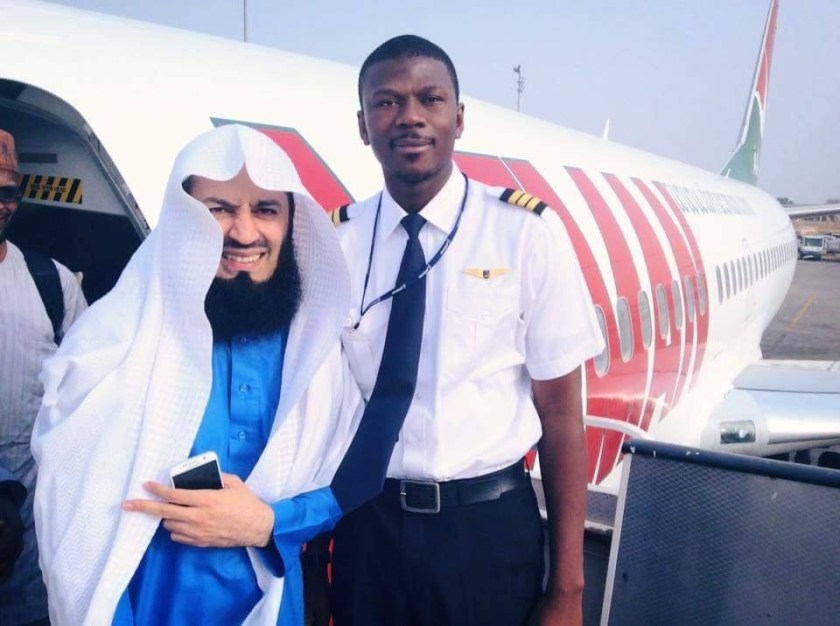 Pilot shares his inspiring story after being jobless for over 15 months in Nigeria