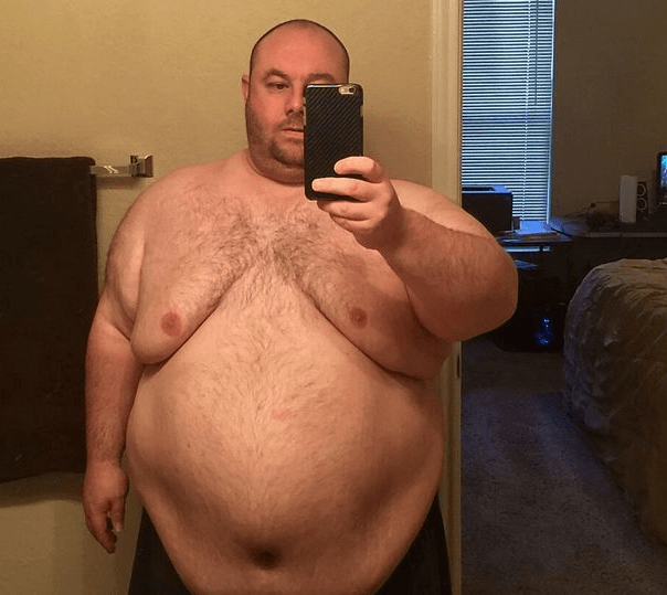 """Man whose marriage was destroyed because he was """"too fat for sex"""" sheds so much weight and looks like a new person"""