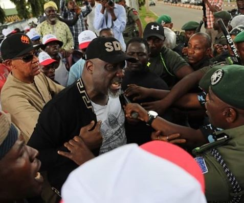 Governor Aregbesola describes the Saraki led PDP protest as a