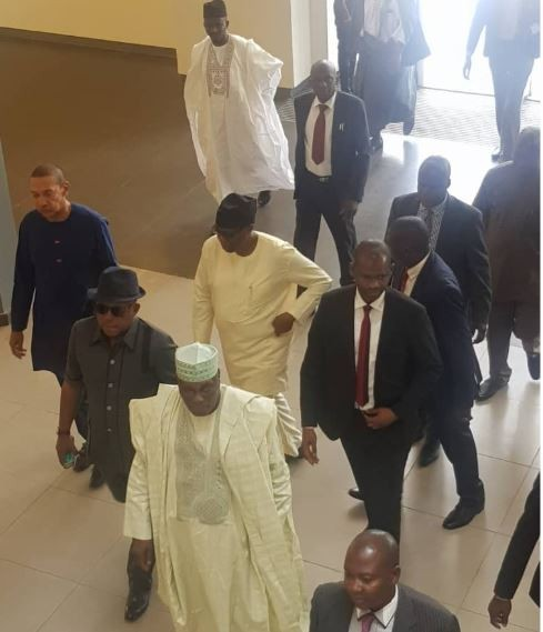 2019: First photos from Atiku and Obasanjo