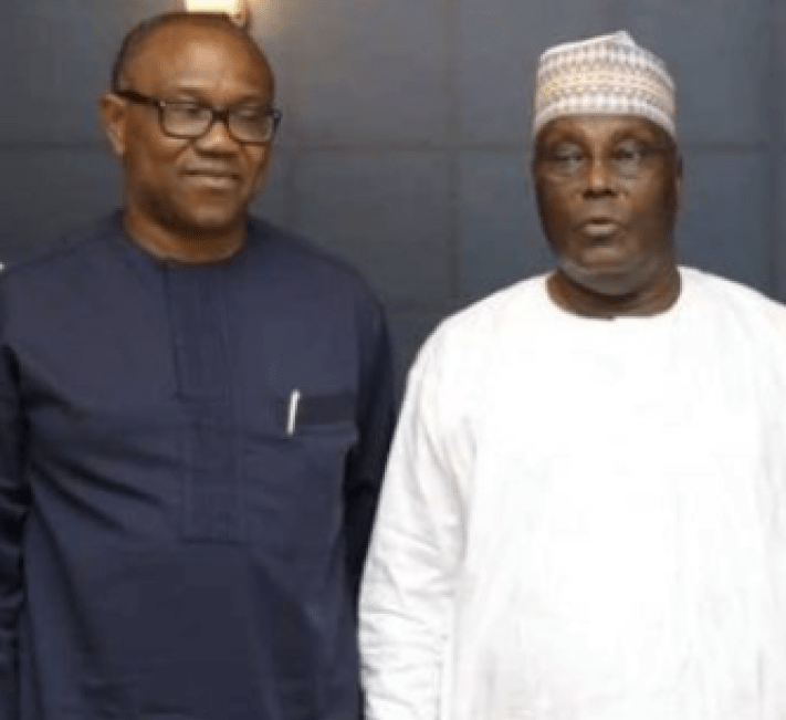 Atiku Abubakar gives reason for picking Peter Obi as his running mate