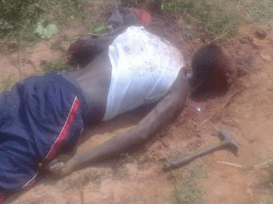 Man beheaded and his private parts harvested; killer allegedly on the run (graphic photo)