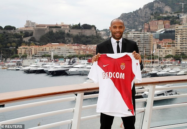 Football legend Thierry Henry officially unveiled as new coach of Monaco (Photos)