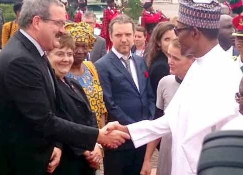 President Buhari receives?the Governor General Of Canada, Julie Payette (Photos)