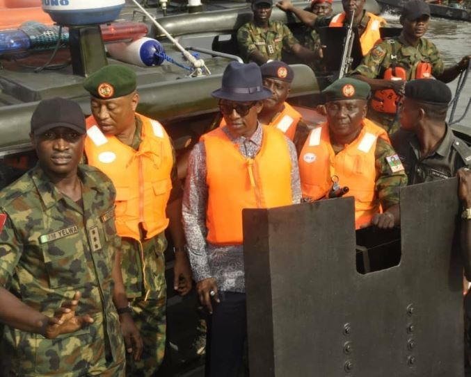 """Nigerian Army officially kick off operation """"Crocodile Smile 3"""" in Bayelsa State"""