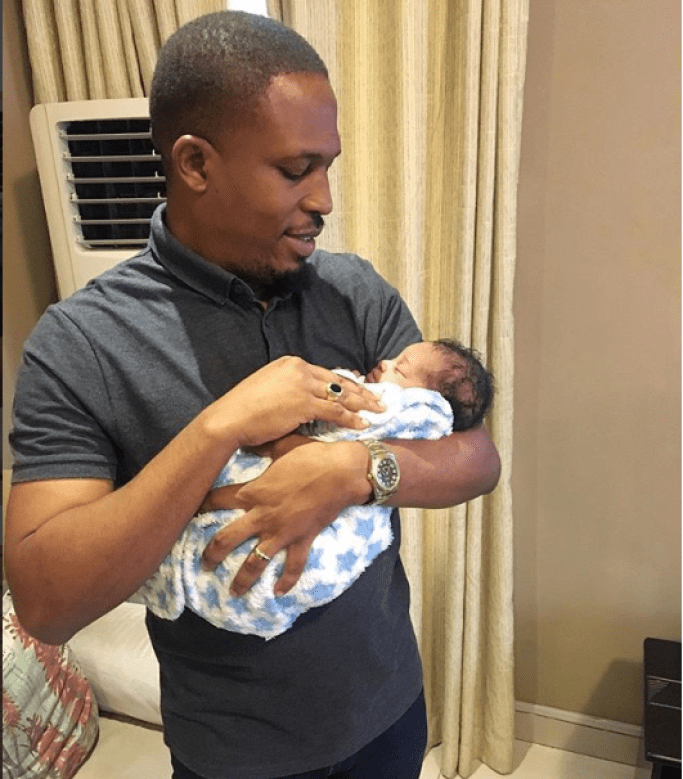 Rapper Naeto C and his wife Nicole welcome their third child, a baby girl?