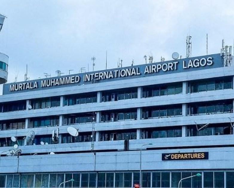 A passenger identified as Ademola Adeleke slumps and?dies at the Murtala Muhammed International Airport, Lagos