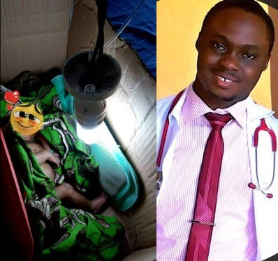 Nigerian doctor applauded for using an