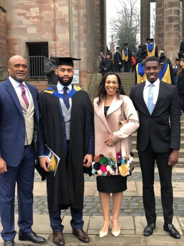 Photos: Pastor Paul Adefarasin writes lovely open letter to his handsome son, Alvin, who just graduated with a first class in Engineering