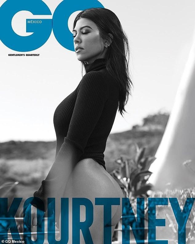 Kourtney Kardashian poses naked for GQ Mexico - Hot World