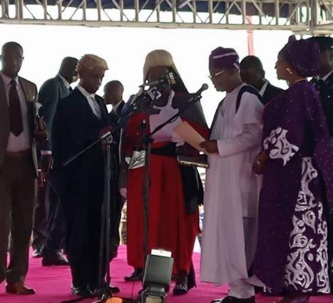 Gboyega Oyetola sworn in as Osun State Governor