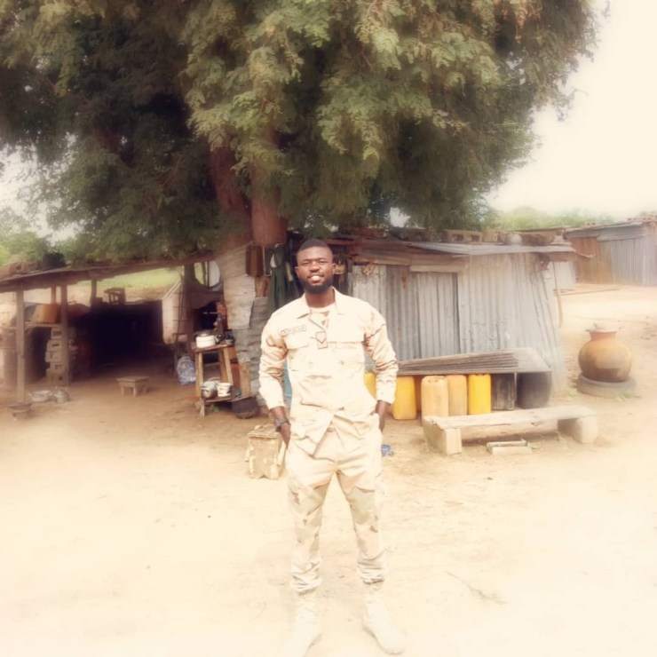 Nigerian soldier shares hot new photos as he turns a year older