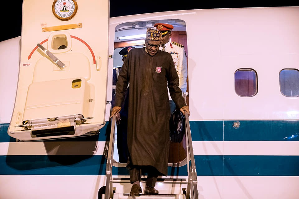 Climate Change Summit: President Buhari returns to Abuja from Poland