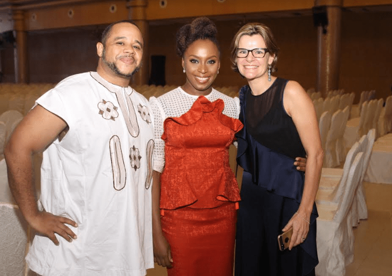 Chimamanda Adichie, her husband Dr Ivara Esege, Phyno and more grace literary evening event to mark conclusion of Adichie