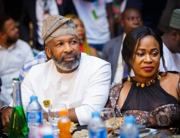 2019: President Buhari hosts Joke Silva, Alex Ekubo, IK Ogbonna, Mercy Aigbe, Iyanya, Bambam, other entertainers in Aso Rock (photos)