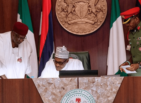 President Buhari to present 2019 budget proposal to National Assembly members next Wednesday December 19th