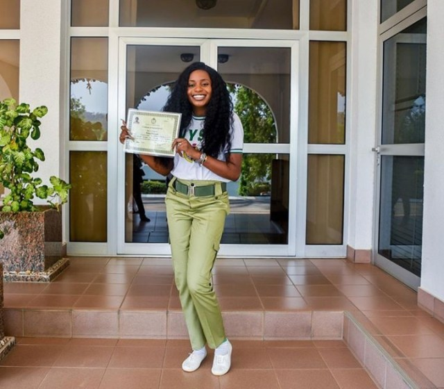 Kiki Osinbajo rejoices as she and her brother Laolu complete NYSC (photos)
