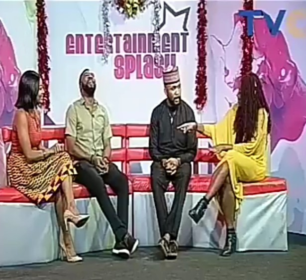 Banky W gives Ibrahim Suleiman marital advice in recent interview (video)