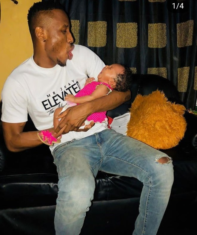 Mr 2kay finally admits he and Gifty welcomed a child