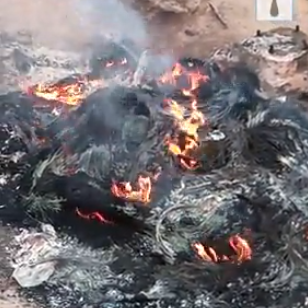 Graphic: Bus conductor set ablaze after stabbing passenger to death over N100 change