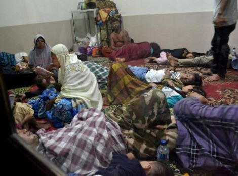 Tsunami strikes Indonesia killing at least 40 people, injuring 600 and destroying more than?400 homes