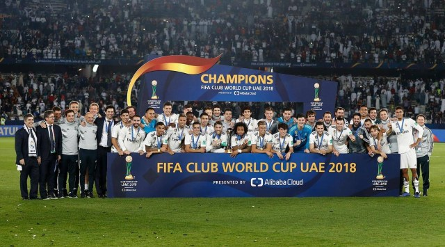 Real Madrid wins Club World Cup for the third year in a row (Photos)