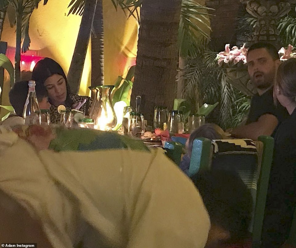 Scott Disick takes his ex-Kourtney Kardashian and current girlfriend Sofia Richie to Mexico for family vacation (Photos)